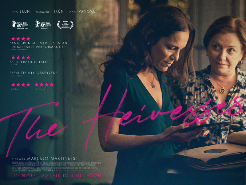 the heiresses uk poster
