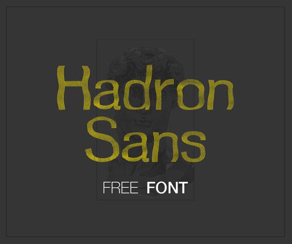 Hadron Sans Free Font