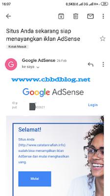 cara daftar google adsense di android