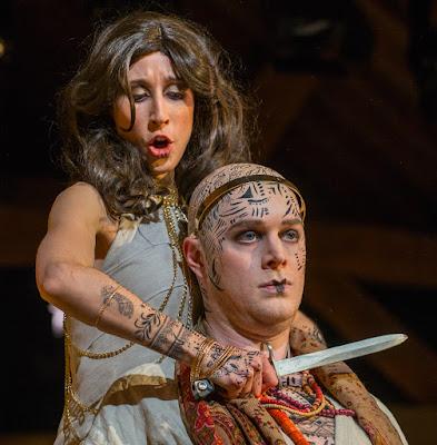 Handel: Giulio Cesare - Marie Lys, John Lattimore - Bury Court Opera (Photo Simon John)