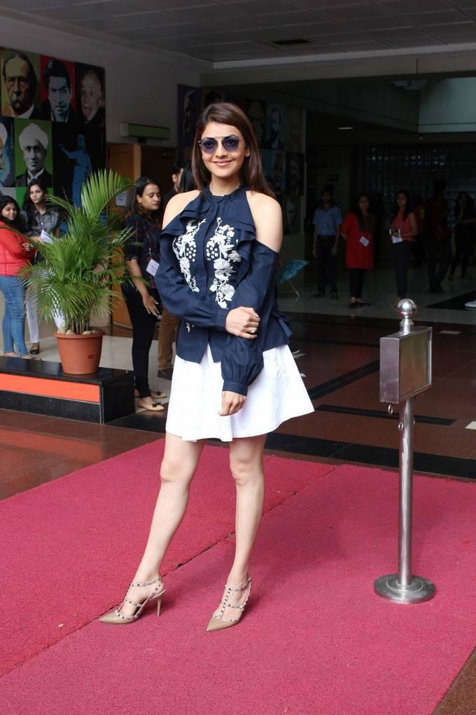 Kajal Aggarwal Photos At Khoon Mein Hai Short Film Launch