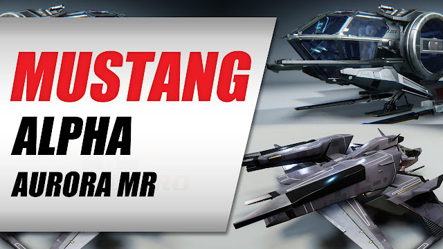 Star Citizen Giveaway • Mustang Alpha or Aurora MR Starter Pack