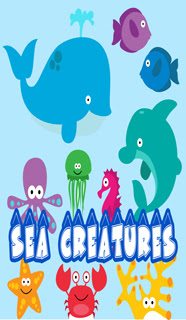 EDIBLE IMAGE SEA CREATURES