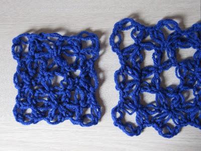 crochet, gauge, love knot, tutorial, how to