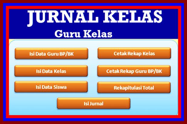 Aplikasi Jurnal Kelas Versi Terbaru 2017/2018