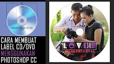 Cara Cepat dan Mudah Membuat Label CD atau DVD Dengan Photoshop