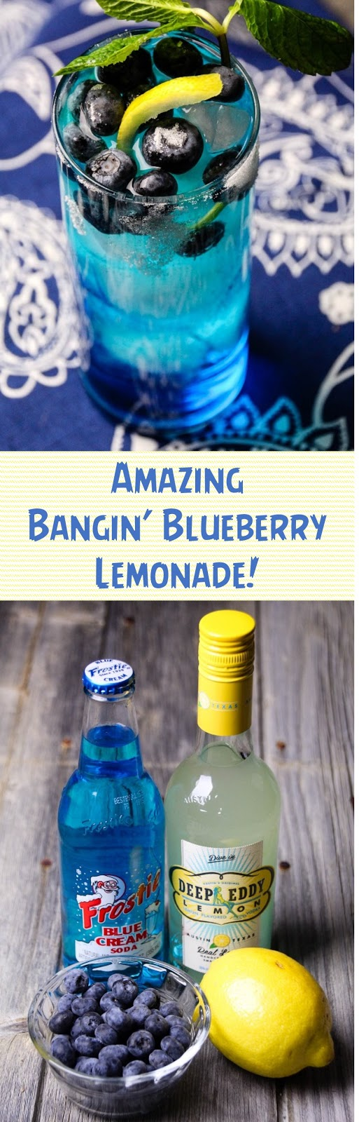 Amazing Bangin' Blueberry Lemonade!