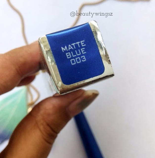 Colorbar All-Matte Eyeliner Matte Blue 003 Review