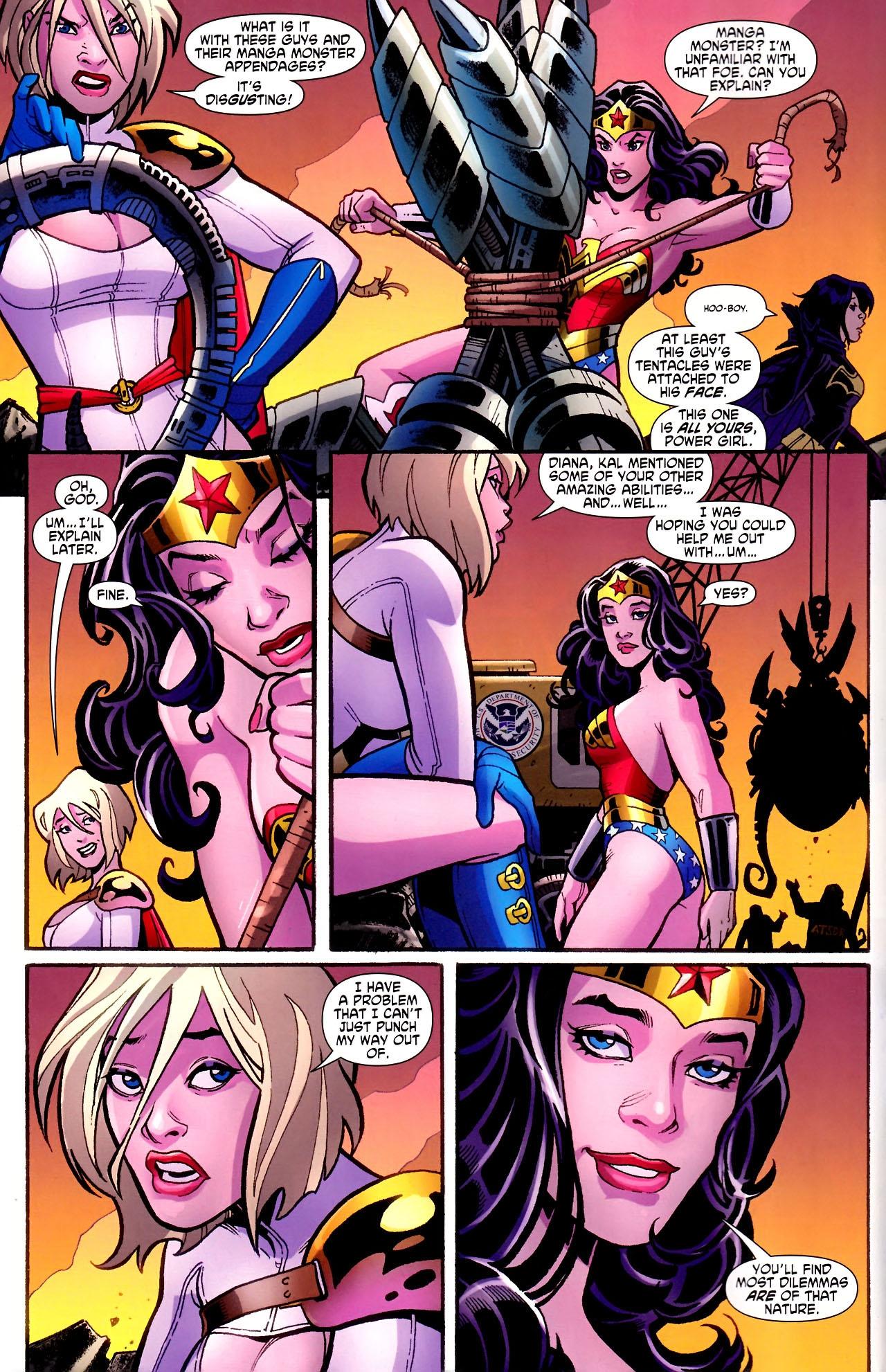 Read online Wonder Woman (2006) comic -  Issue #600 - 14