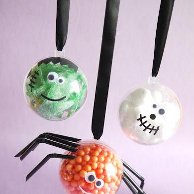 DIY Boules à Bonbons Petits Monstres