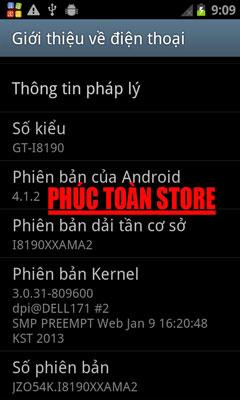 GT-I9180 mt6575 khóa pass Gmail ok alt