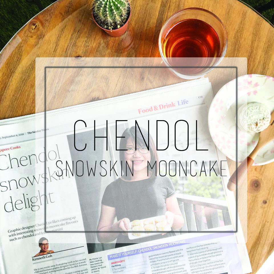 Chendol Snowskin Delight The Sunday Times Singapore Cooks
