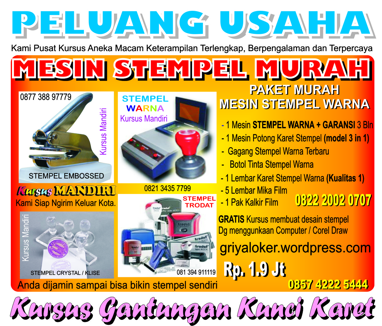 Percetakan Sablon Sparasi Digital Printing dll http