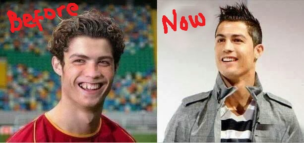 Money Good O Check Out Cristiano Ronaldo In  And Now Compare And Contrast