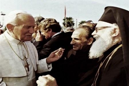 Papa Gjon Pali II, Pader Zef Pllumi, prill 1993