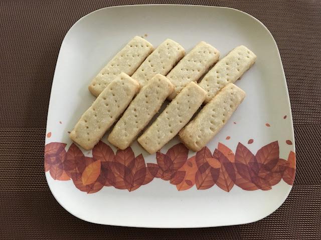 Receta de Galletas de mantequilla estilo escocés