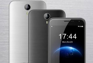 Homtom HT3 Pro, Smartphone 4G LTE Murah 1 Jutaan Baterai 3000 mAh