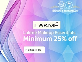 Lakme Makeup & Personal Care Essentials – Minimum 30% Off + Buy 3 get 10% Extra Off @ Flipkart