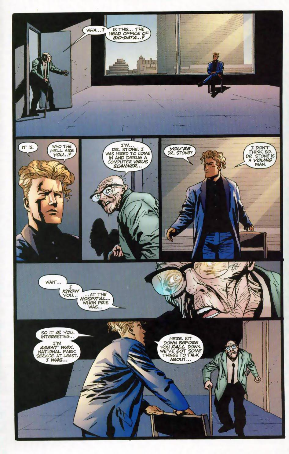 Wildcats (1999) Issue #28 #29 - English 9