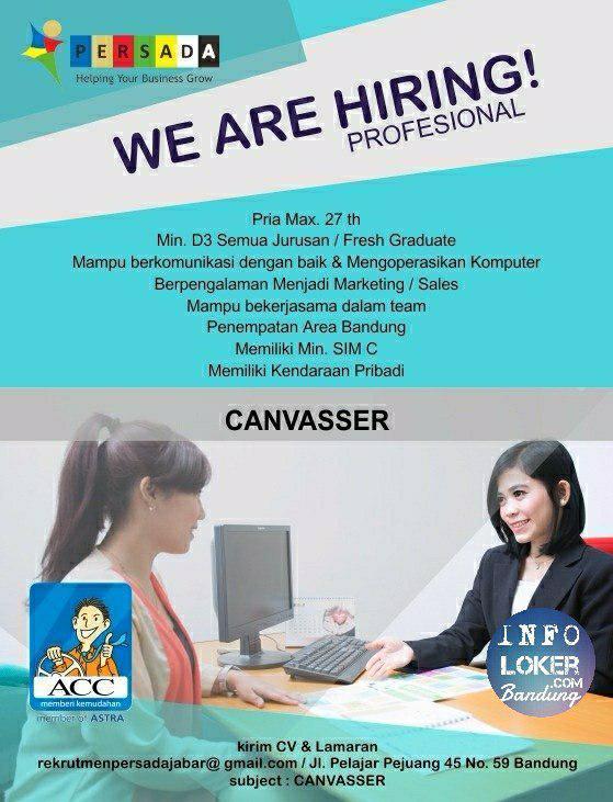 Lowongan Kerja Canvasser Astra Credit Companies Bandung Oktober 2018