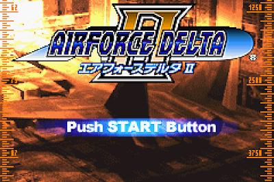 【GBA】空戰神鷹2(三角洲空軍部隊2)+金手指,Airforce Delta II!