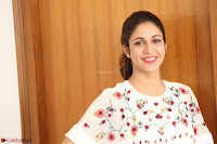 Lavanya Tripathi in Summer Style Spicy Short White Dress at her Interview  Exclusive 211.JPG