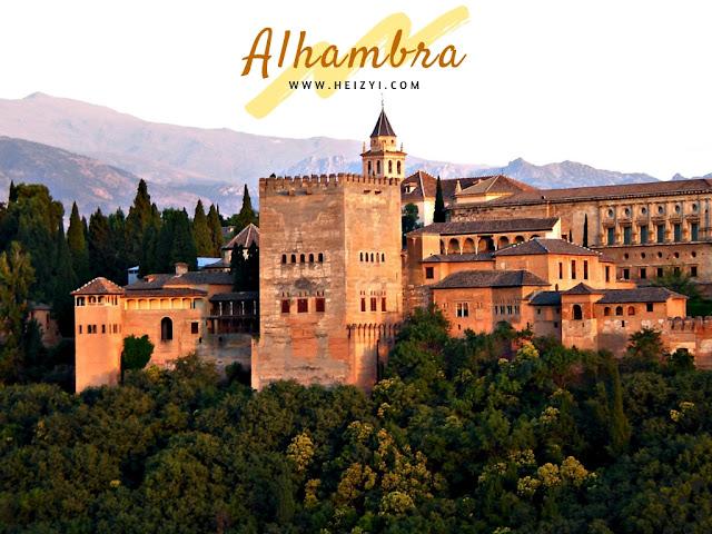 Tempat Wisata Romantis Spanyol Barcelona Granada