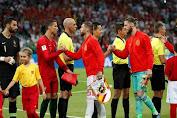 Babak Pertama Usai, Portugal Kalahkan Spanyol 2-1