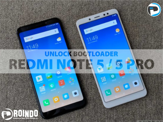 Bootloader Xiaomi Redmi Note 5 Pro via Mi Flash Unlock Tool