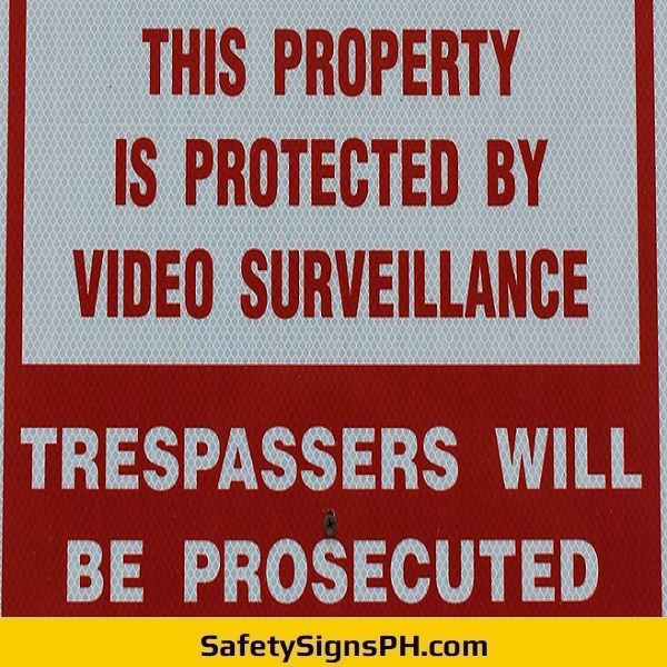 Video Surveillance Sign Philippines