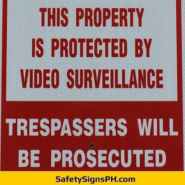 Video Surveillance Sign Philippines