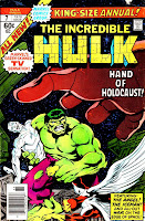 Incredible Hulk v2 annual #7 marvel comic book cover art by John Byrne