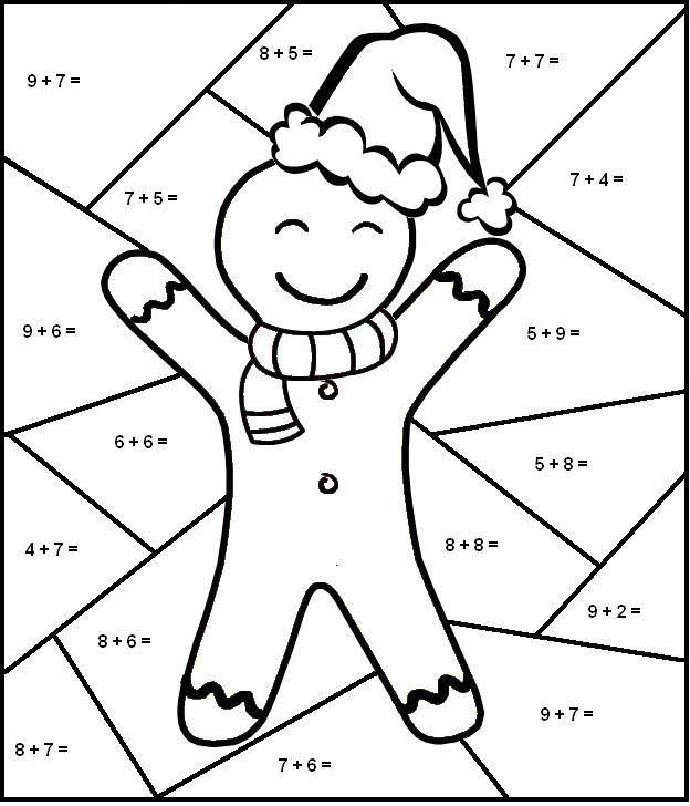 Math Color By Number Printables. color by numbers coloring pages ...