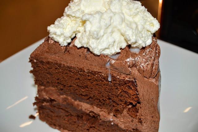 Marc Forgione's Chocolate Cake