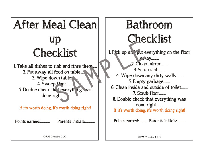 i heart chore charts  chore charts for kids 8