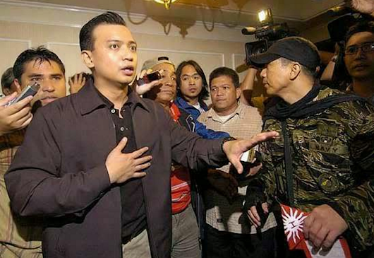 "Trillanes was a coward who avoided combat, ""Puro daldal lang at porma"" says MAGDALO member"