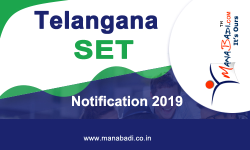 Telangana SET Notification 2019