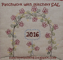 Patchwork with Stitchery SAL 2016