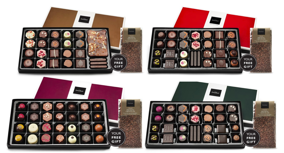 Luxury Hotel Chocolat Subscription Box Tasting Club Gift