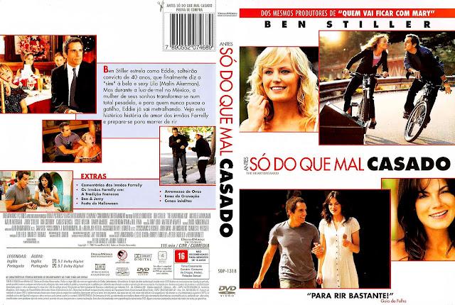 Capa DVD Antes Só do Que Mal Casado