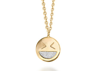 Missoma - Funny Face Necklace - Emoji Jewellery