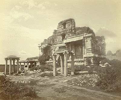Ruins of the Krishna Temple, 1868