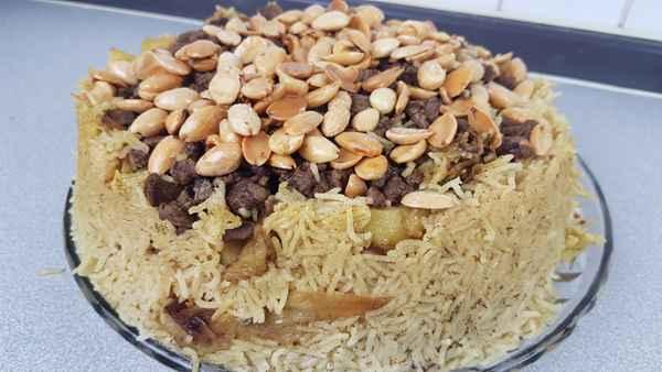 مقلوبة الرز