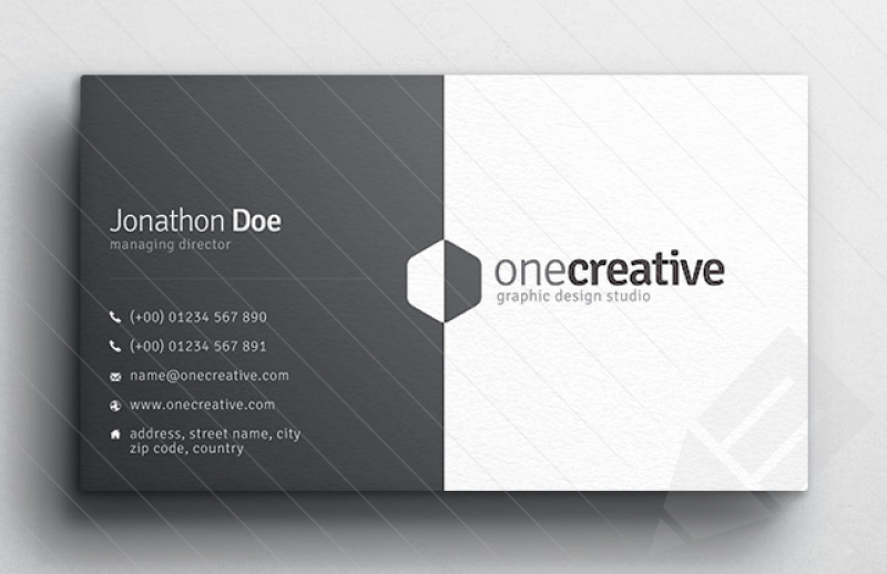 Business Card Design Slim Image