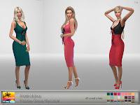 AlainaLina Paisley Dress Recolor