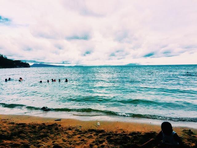 Shoreline at Tali Beach