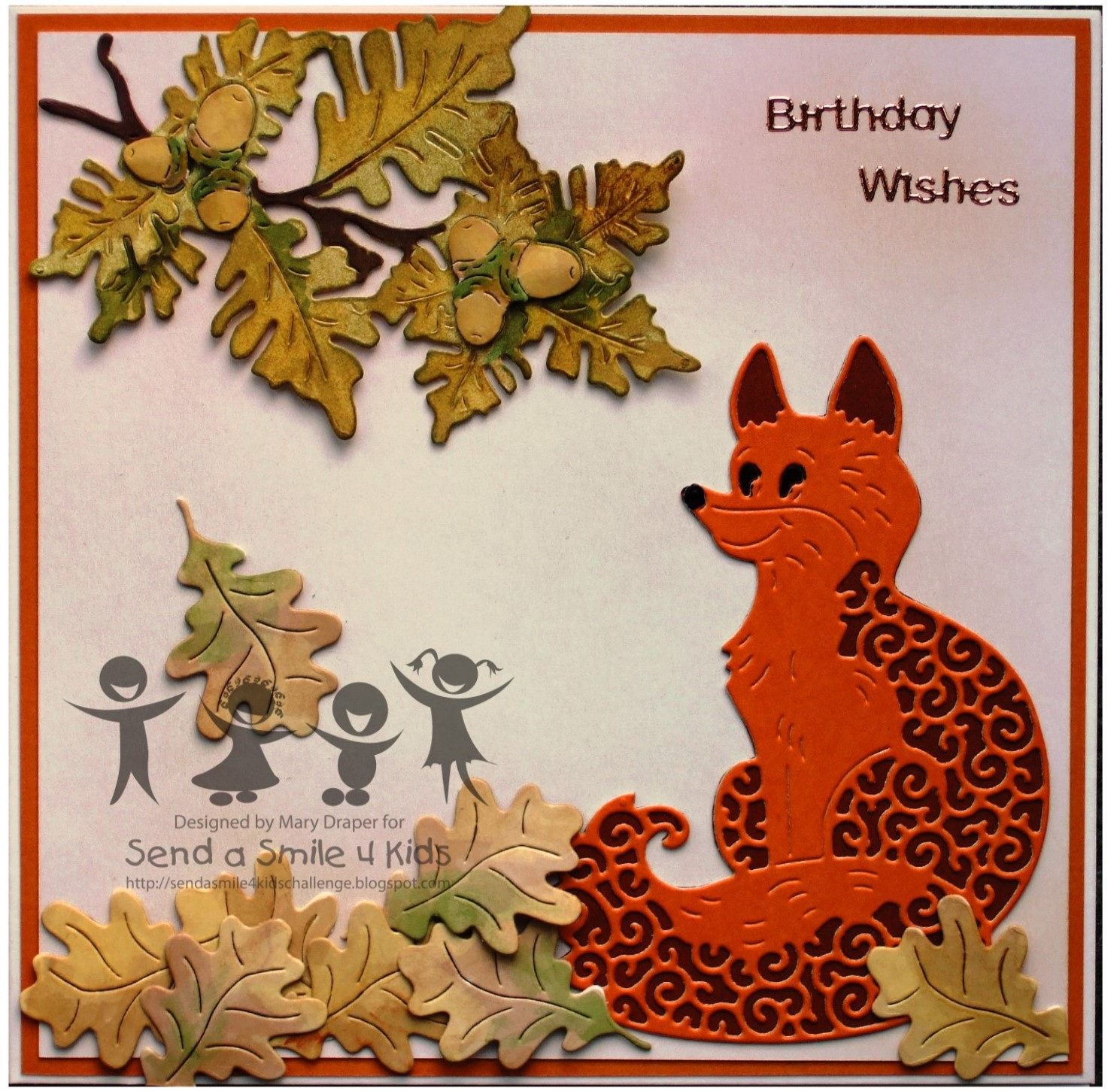 Send A Smile 4 Kids Challenge Blog Thankful Or Fall Cards 4 Kids Or