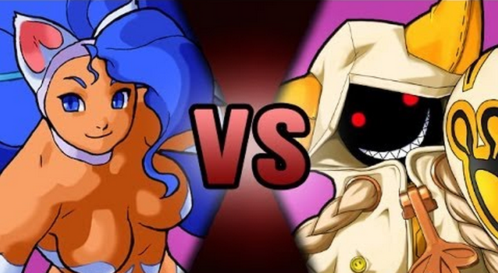 http://nerduai.blogspot.com.br/2013/04/death-battle-felicia-vs-taokaka.html