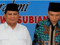 Hasil Poling, TGB Sosok Paling Layak Menjadi Cawapres Prabowo