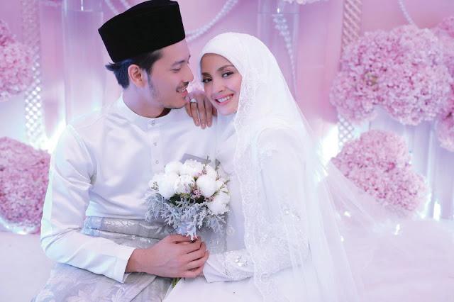 Tahniah! Fazura dan Fattah dah kahwin
